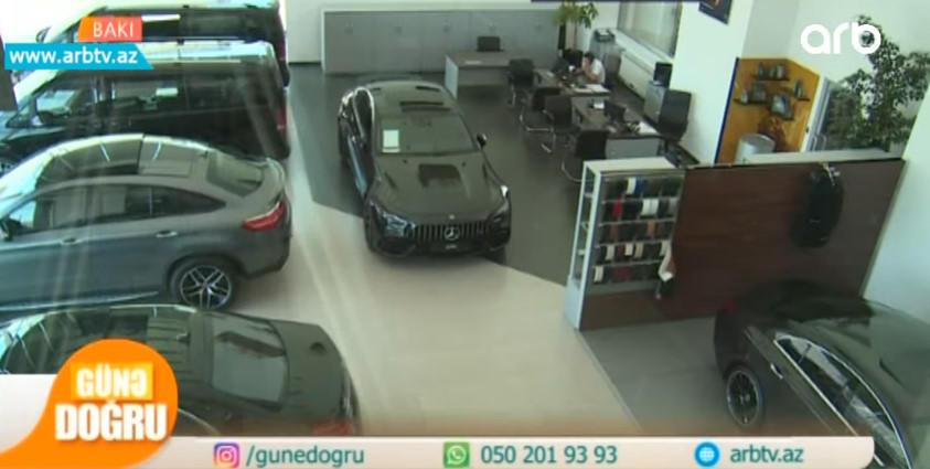 Azərbaycanın ən bahalı avtomobilləri - VİDEO - FOTO