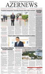 """""""AZERNEWS"""" qəzetinin növbəti nəşri çapdan çıxıb - FOTO"""