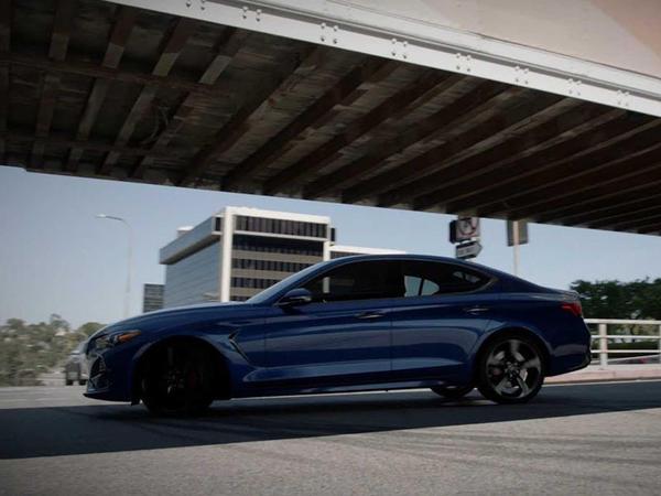 Genesis G70 Fast and Furious filmindəki səhnəni təkrar edib - VİDEO