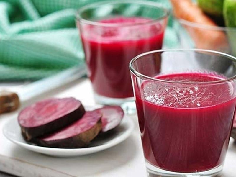 Qaraciyəri təmizləyən kokteyl - Resept