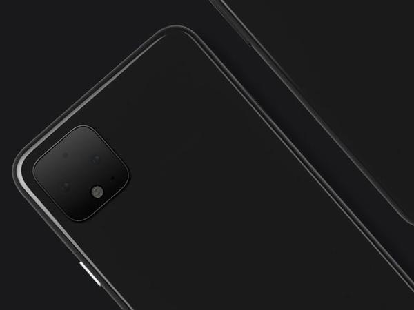 Pixel 4 smartfonunun ilk rəsmi fotosu