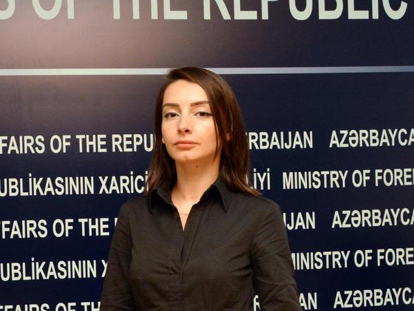 """Ermənistan rəhbərliyinin məntiqini anlamaq çətindir - <span class=""""color_red"""">Leyla Abdullayeva</span>"""