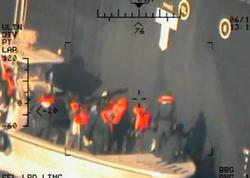 Pentaqon İranın tankerlərə hücum etdiyini təsdiqləyən kadrlar yaydı - FOTO