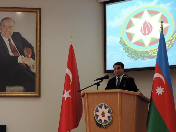 Ankarada Azərbaycan diplomatik xidmət orqanlarının 100 illiyi münasibətilə konfrans keçirilib - FOTO
