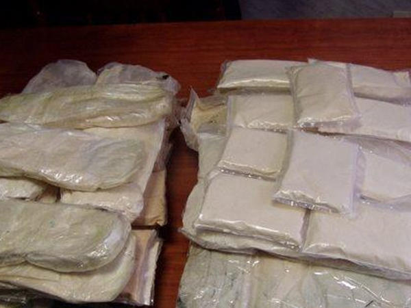 Bakı sakini Qaxda külli miqdarda narkotiklə saxlanıldı