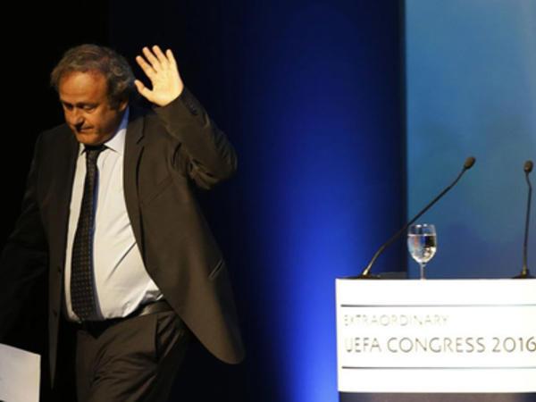 UEFA Mişel Platininin saxlanılmasına şərh verməkdən imtina etdi