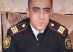 Abşeronda özünü asan polisin FOTOSU