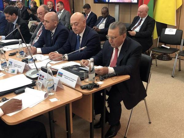 Ramiz Mehdiyev təhlükəsizlik məsələləri üzrə beynəlxalq görüşdə iştirak edib