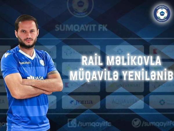 Rail Məlikovla müqavilə imzalandı