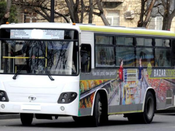 Bu avtobusların hərəkəti dəyişdirildi - FOTO