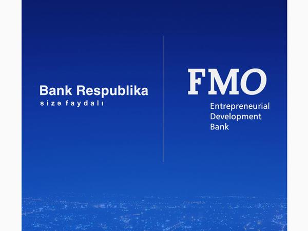 FMO və Bank Respublika kiçik və orta sahibkarlığın inkişafı üçün kredit müqaviləsi imzaladılar