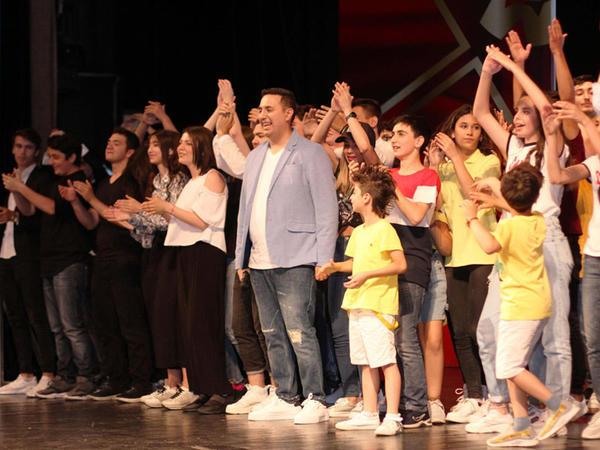 """""""Azərbaycan Gülüş Liqası""""nın rəsmi açılış mərasimi oldu - FOTO"""