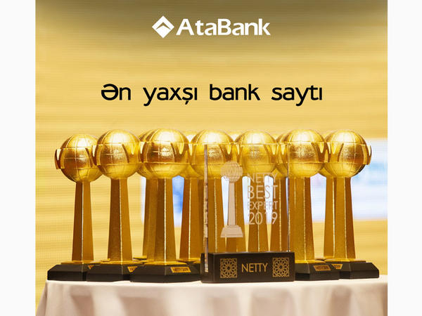 AtaBank NETTY 2019 mükafatını qazandı