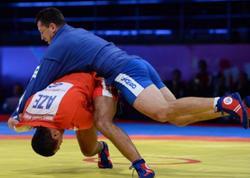 Azərbaycanın sambo yığması Oyunları 3 medalla bitirib