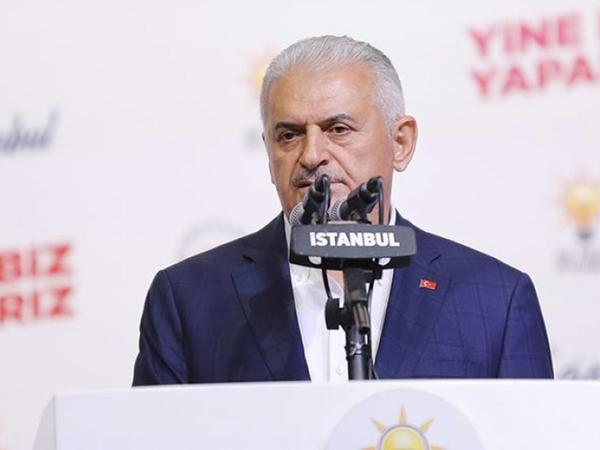 Yıldırım İmamoğlunu təbrik etdi