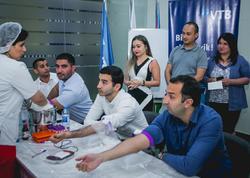Bank VTB (Azərbaycan)-ın kollektivi qanvermə aksiyası keçirib
