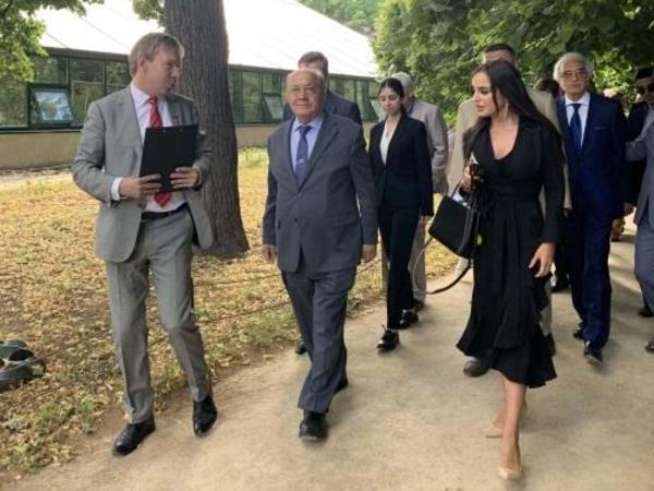 Heydər Əliyev Fondunun vitse-prezidenti Leyla Əliyeva Moskvada Azərbaycan Mədəniyyəti Günündə iştirak edib - FOTO