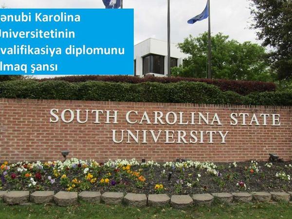 Azərbaycanda Cənubi Karolina Universitetinin kvalifikasiya diplomunu almaq mümkün olacaq
