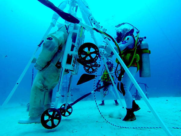 NASA və ESA-dab Ayda yıxılan astronavtları qaldıracaq sistem