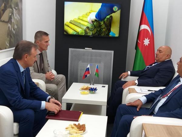 Azərbaycanla Rusiya arasında müdafiə sənayesi sahəsində razılıq əldə edilib - FOTO