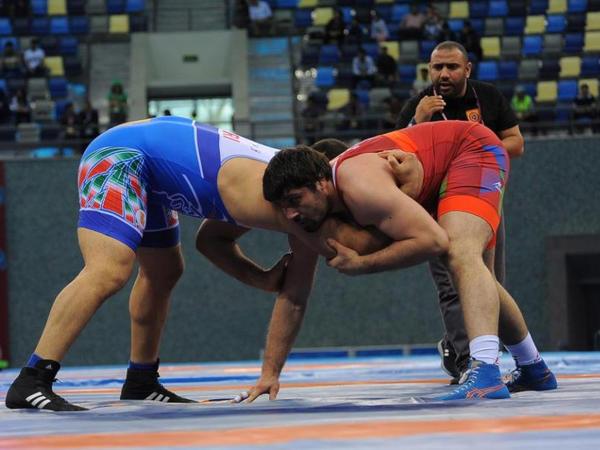 """Əmiraslanov finalda, Qostiyev uduzdu - <span class=""""color_red""""> Avropa Oyunları</span>"""