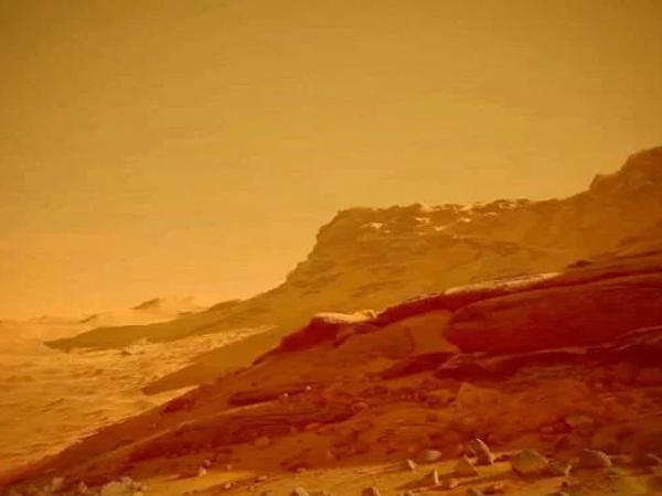 Mars planetində qanlı Nibiru məbədi kəşf edildi
