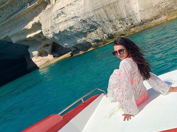 """Oksana Rəsulova Antalyada bikinidə GÖRÜNTÜLƏNDİ - <span class=""""color_red"""">FOTO</span>"""