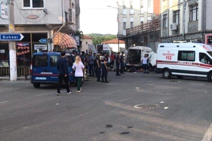 Türkiyədə ağır qəza: 10 ölü, xeyli yaralı var - FOTO