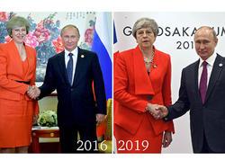 """3 il sonra Putinlə bir araya gəldi - <span class=""""color_red"""">Bu dəfə üzü gülmədi...</span>"""