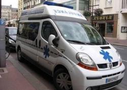 Fransada sürücü avtomobilini insanların üzərinə sürüb, xəsarət alanlar var
