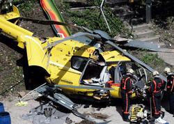 Kanadada helikopter qəzaya uğradı