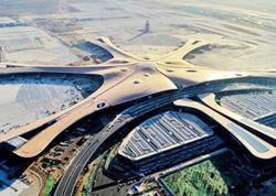 """Dünyanın ən böyük hava limanı tikildi - <span class=""""color_red"""">VİDEO</span>"""