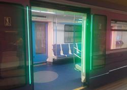 """Bakı metrosuna yeni gətirilən qatarlar budur - <span class=""""color_red""""> FOTO</span>"""