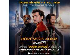"""""""Park Cinema Metropark""""da """"Spiderman Parti""""si: bir bilet almaq kifayətdir! - VİDEO"""