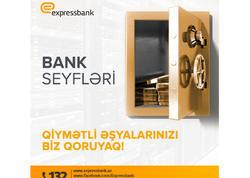 Expressbank-dan sərfəli bank seyfləri xidməti