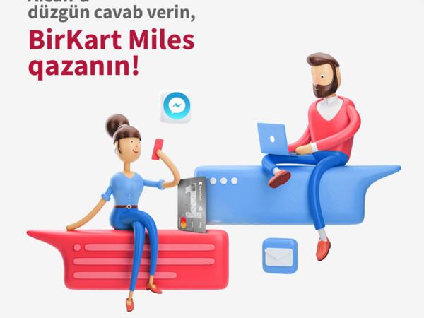 BirKart-dan Facebook Messenger istifadəçilərinə yarışma!