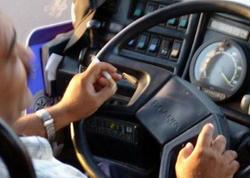Siqaret çəkdiyinə görə 47 avtobus sürücüsü barədə tədbir görüldü - FOTO