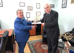 Gürcüstanın yeni təyin edilmiş baş konsulu Bakıdadır
