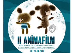 Filip Poşivaç İkinci ANİMAFİLM Bakı Beynəlxalq Festivalının plakatını hazırlayıb - FOTO