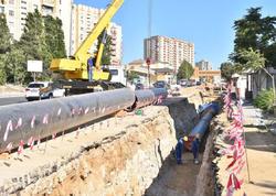 """""""Azərsu"""": Yeni Günəşliyə yeni su xəttinin çəkilməsi bu ayın sonu başa çatacaq"""