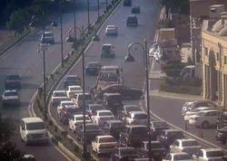Tbilisi prospektindəki sıxlığın səbəbi bilindi