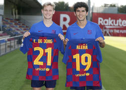 """De Yonq """"Barselona""""da nömrə seçimini etdi"""