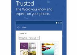 """""""Microsoft Word"""" proqramının """"Android"""" üçün tətbiqi 1 milyard dəfə quraşdırılıb"""