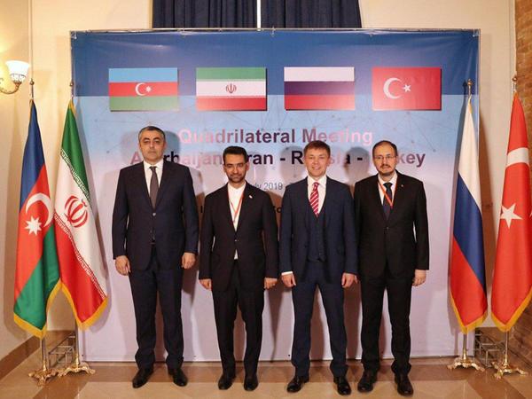 """Azərbaycan, Rusiya, İran və Türkiyənin rabitə nazirləri Tehranda görüşəcək - <span class=""""color_red"""">FOTO</span>"""