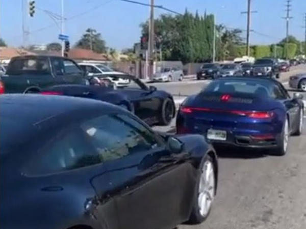 Yeni nəsil Porsche 911 Targa yolda görüntülənib - VİDEO