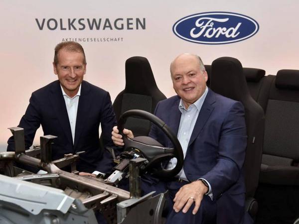 Ford və VW əməkdaşlığı genişləndirirlər