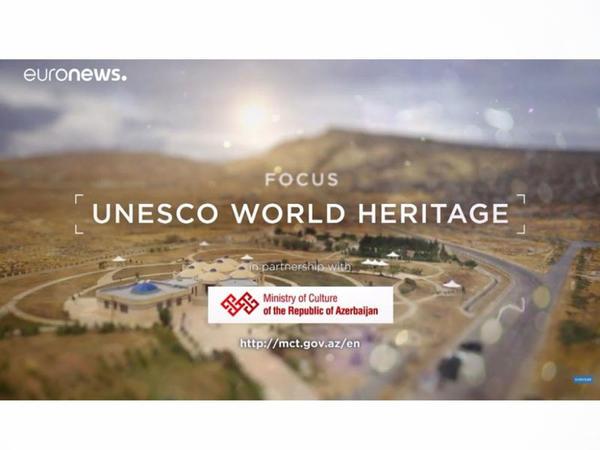 """""""Euronews"""" telekanalı UNESKO-nun Bakı sessiyası haqqında süjet yayımlayıb"""
