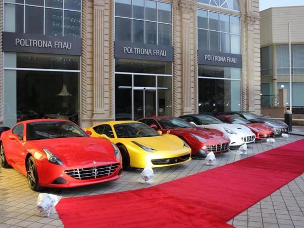 """Bakıdakı """"Ferrari"""" mağazası bağlanır"""