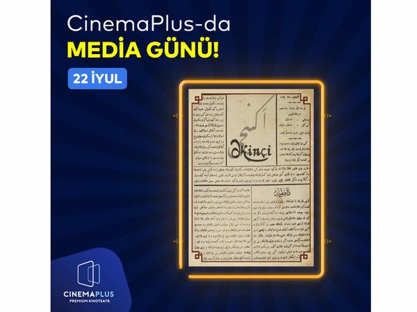 """CinemaPlus-da """"Media günü"""" - Pulsuz bilet, içki, popkorn..."""