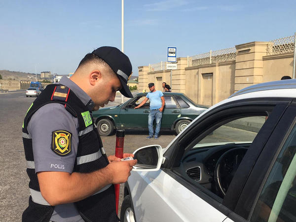 """Qaradağda 15 sürücü saxlanıldı - <span class=""""color_red"""">SƏBƏB - FOTO</span>"""